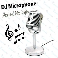 Buy cheap New Classic Vintage Studio Record Vocal Speech Mic Microphone at $8.84...