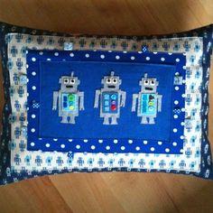 Robot Love Pillow / Cushion £29.50
