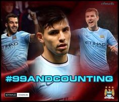99 and Counting! #mcfc #manchester #city
