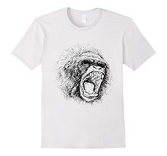 Men's Gorilla Ape Monkey Chimpanzee Tshirt Shirt Tee Animal Primat Large White Wonderful Dream Picture http://www.amazon.com/dp/B01C2YLJCO/ref=cm_sw_r_pi_dp_TbNfxb0Z4D5FR