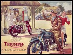 Triumph - the best motorcycle in the world.