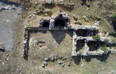 Guspini, città romana di Neapolis, Piccole Terme