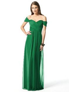 Green off the shoulder bridesmaids dress bridesmaid Dessy Collection Ruched Chiffon Gown Burgundy Bridesmaid Dresses Long, Bridesmaid Dress Styles, Dessy Bridesmaid, Green Bridesmaids, Evening Dresses, Prom Dresses, Wedding Dresses, Dresses 2016, Dresses Online
