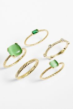 Ariella Collection Stackable Rings (Set of 5) by Ariella Collection on @nordstrom_rack