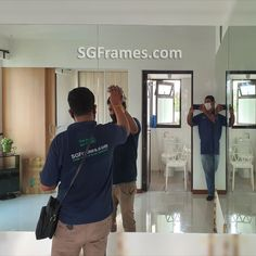 Just now completed a Frameless Mirror Installation Project. Our customer wanted to fix a Mirror on wall to use as a Home Deco purpose.   To book your Site Visit please call us here: 94517174  #SGFrames #ClearMirror #TintedMirror #RoundMirror #OvalMirror #SupplyAndInstall #CustomSize #HDB #SGFramesToaPayoh #FrameLessMirror #Mirror #WallMirror #SiteVisit #HomeDeco