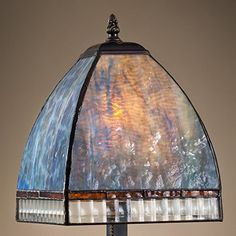 Home Décor Table Lamps  J Devlin Lam 5892 TB Tiffany Stained Glass Mission Table Lamp Opalescent Multi Colors of Blue Amber Purple Green *** This is an Amazon Associate's Pin. Click the image for detailed description on Amazon website.