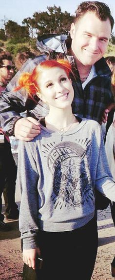 Hayley Williams and chad