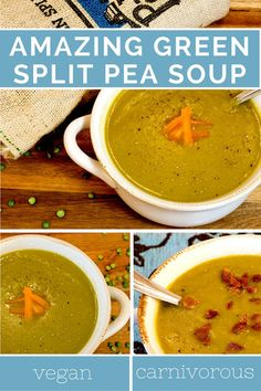 soup recipe is easy & delicious. Not your average recipe for pea soup ...