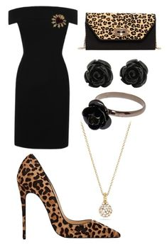 """Leopard Print 🐆"" by flamingos-hugs-glitter on Polyvore featuring Dolce&Gabbana, SUSU and David Yurman"