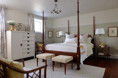 Four Poster Bed - Transitional - bedroom - Sarah Richardson Design