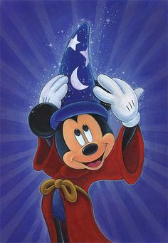 Magic is in the Air - Disney Fine Artist Bret Iwan