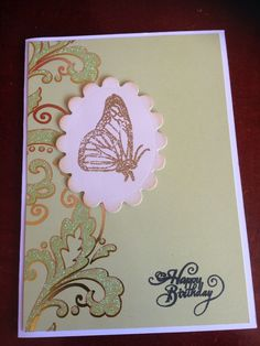 Birthday card - made by Melrose