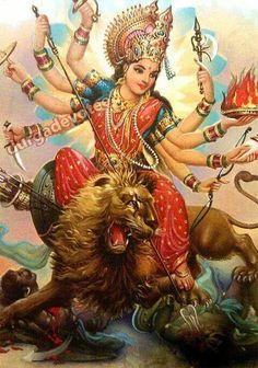 233 Best Jai Durga Maa For Watsapp photos by lakshitaaggarwal Durga Ji, Saraswati Goddess, Kali Goddess, Shiva Shakti, Maa Durga Photo, Maa Durga Image, Navratri Puja, Happy Navratri, Orisha