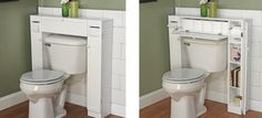 The Twillery Co. Eleanor W x H Over the Toilet Storage Bathroom Storage Solutions, Small Bathroom Storage, Storage Spaces, Bathroom Shelves, Bathroom Ideas, Toilet Paper Storage, Toilet Shelves, Laundry Sorting, Compact Bathroom