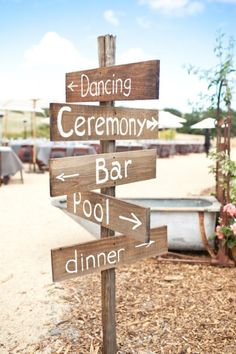 Cute sign idea for outdoor wedding/reception My Perfect Wedding, Wedding In The Woods, Our Wedding, Dream Wedding, August Wedding, Spring Wedding, Wedding Things, Wedding Coordinator, Wedding Events