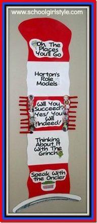 dr seuss behavior chart | Dr. Seuss Behavior Chart for classroom www.schoolgirlstyle.com