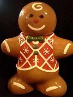 Ginger Bread Man Cookie Jar