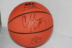 NBA Basketball Autographed by Charles Barkley by VintagebyViola, $275.00 famed sport announcer and pro basketball player