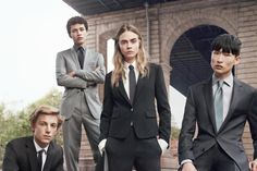 Cara Delevingne Makes a Very Handsome Man