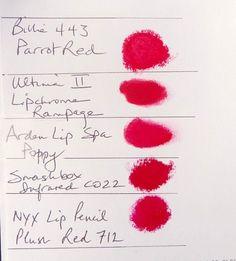 TW reds