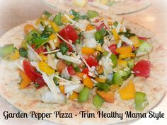 Beatitudes, Blessings & Broadcasts: Garden Pepper Pizza's