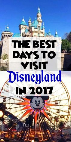 40 disneyland hacks that will make your trip a true fairy tale best days to visit disneyland in 2017 publicscrutiny Image collections