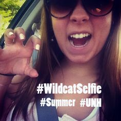We all know it is hard to resist taking a selfie in the Summer. Tell @UNHStudents what you are doing with your Summer by using #WildcatSelfie