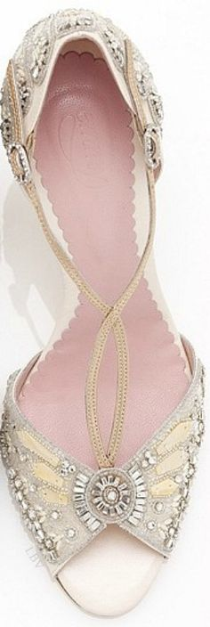 ♥ The Emmy London Francesca Bridal Shoe