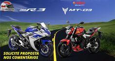 HILTON MOTOS: Yamaha R3 e MT-03. Escolha a sua e vem pra Hilton ...