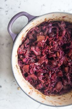 Spiced Apple and Cranberry Cabbage