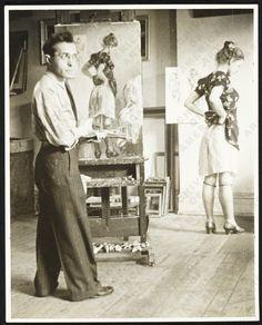 Братья Сойеры. Американские классики Berenice Abbott, Edward Hopper, Harlem Renaissance, Artistic Photography, Street Photography, Painter Photography, Figure Painting, Painting & Drawing, Rembrandt