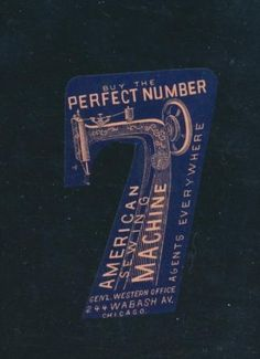 Victorian-trade-card-die-cut-Perfect-no-7-American-Sewing-Machine