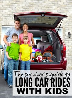 Long car rides can be stressful, especially when you add children into the mix, but thanks to these tips, it doesn't have to be as horrible as you think!