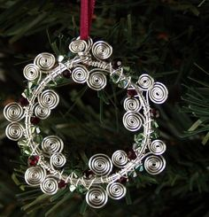 Wire wreath for decorating