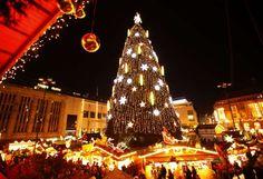 En la ciudad de Dortmund también existe un árbol de Navidad que suele estar muy bien decorado con lu... - Reuters