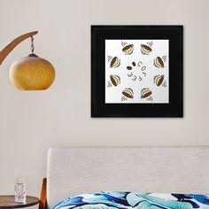 """8 Hour Coffee Clock Work Day"" Framed Art Print by Pultzar   Redbubble"