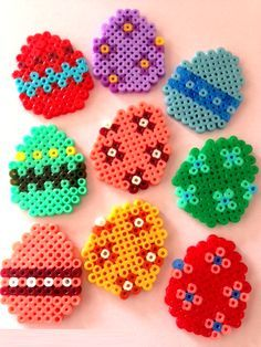 Easter eggs hama perler beads