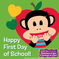 Happy First Day of School! Moms, are your little ones heading back today?