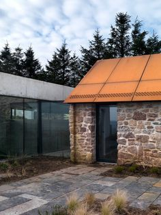 Loyn & Co. Architects stormy castle - Google Search Duggan Morris, Stephen Lawrence, Castles In Wales, Modern Small House Design, Agricultural Buildings, Into The West, Property Design, Modern Farmhouse Exterior, Thatched Roof