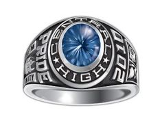 Oval Budget Saver High School Class Rings