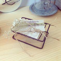 Old soapdish. Ideal para nuestras tarjetas. #rinconesdeltallerltf #latitadefabiola #handmade