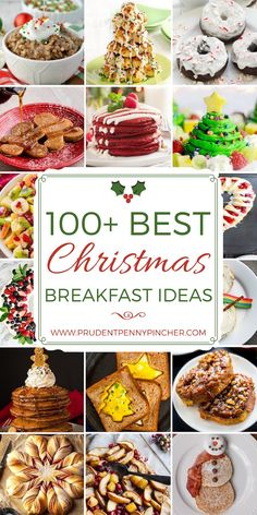 100 Best Christmas Breakfast Recipes 100 Best Christmas Breakfast Ideas From overnight eggnog French toast to gingerbread pancakes, there are plenty of festive and easy Christmas breakfast recipes to choose from Christmas Morning Breakfast, Breakfast And Brunch, Christmas Brunch, Noel Christmas, Breakfast For Kids, Christmas Desserts, Breakfast Casserole, Christmas Treats, Christmas Baking
