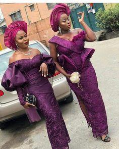 85 Edition Of - 23 Awesome Aso ebi Lace styles 2020 Aso Ebi Lace Styles, African Lace Styles, African Lace Dresses, African Dresses For Women, African Attire, Ankara Styles, African Blouses, African Wear, African Fashion Ankara