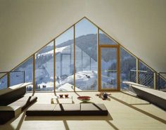 Wooden Mountain House in Swiss Alps - ahhhmazing!