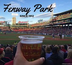 Fancy great beer, and watching one of the best baseball teams in the country? Fenway Park is your best bet! #baseball #bostonredsox