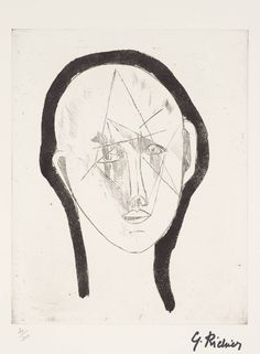 Germaine Richier 'Portrait', 1948–51, published 1961 © ADAGP, Paris and DACS, London 2014