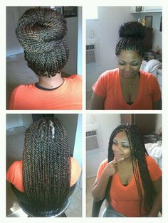 senegalese twists To learn how to grow your hair longer click here - http://blackhair.cc/1jSY2ux