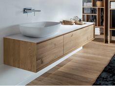 SHAPE EVO   Waschtischunterschrank aus Holz
