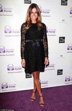 Best foot forward: Real Housewives of NYC star Kelly Bensimon put her tanned and toned