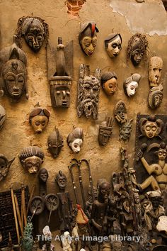Photos and pictures of: Craft shop, Saint-Louis, Senegal - The Africa Image Library African Interior, African Home Decor, Senegal Africa, West Africa, African Masks, African Art, African Tribes, Saint Louis Senegal, Africa Craft